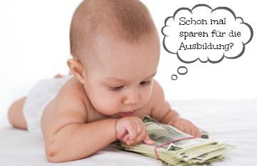 Ausbildungsversicherung oder selber sparen?