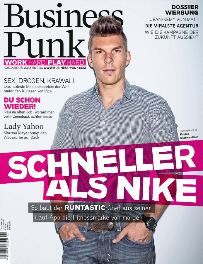 Business Punk Magazin, Ausgabe September 2013