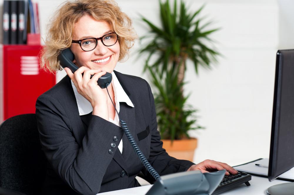 Eine virtuelle Sekretärin kann Freiberuflerinnen und Unternehmerinnen entlasten. Foto: Depositphotos.