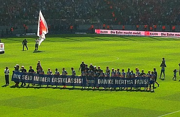 Hertha BSC Berlin ist endlich wieder erstklassig!