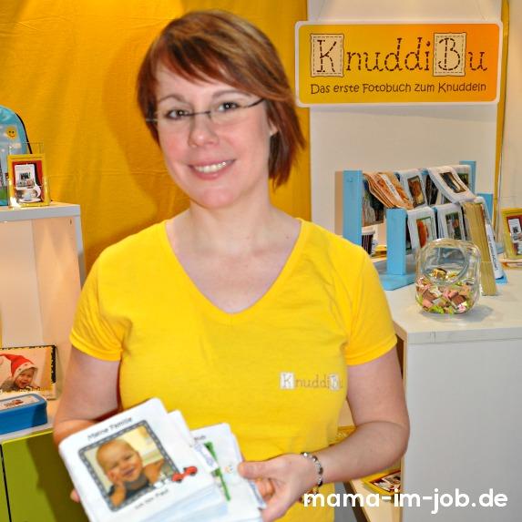 Irina Huck, Inhaberin von knuddibu.de im Interview mit mama-im-job.de