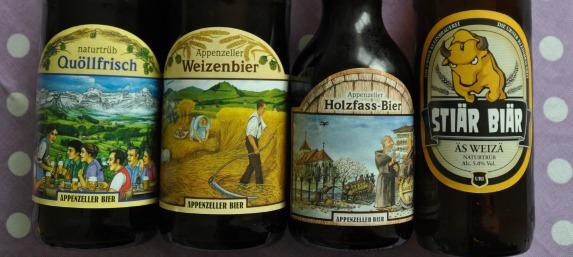 Schweizer Bieretiketten
