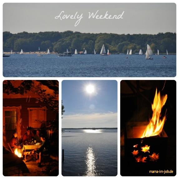 Vermutlich das letzte Sommerwochenende am 8. / 9. September 2013. Chillen mit Freunden am See und im Garten.