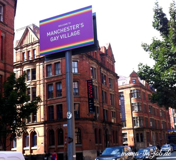 Manchester, Official Gay Village. Foto: Petra A. Bauer 2015.