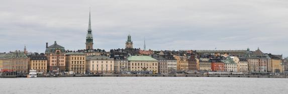 Stockholm - Blick auf die Altstadt (Gamla Stan)