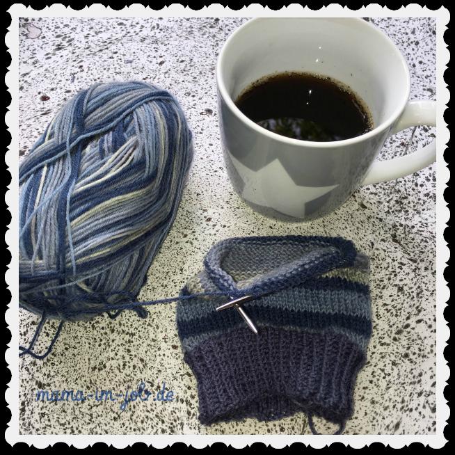 Plain Vanilla Socks mit dem addi Sockenwunder. Foto: Petra A. Bauer