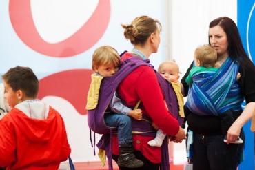 Mamas auf der Babywelt. Foto: Ping Pong PR.