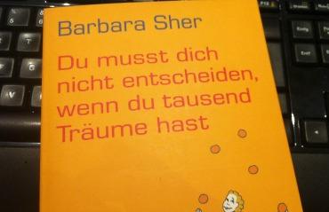 Barbara Sher - Du musst dich nicht entscheiden, wenn du tausend Träume hast. Foto: Petra A. Bauer 2015