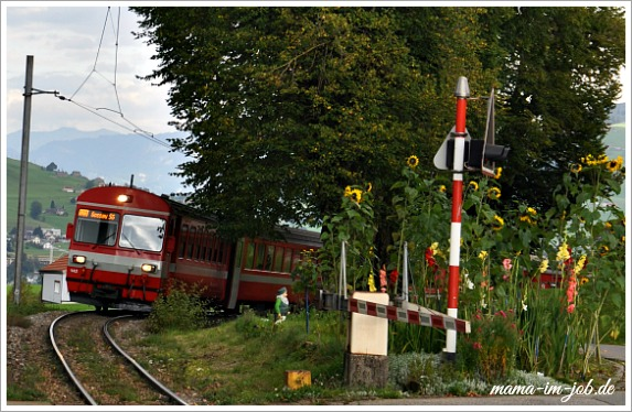 Bad Gonten, Bahnhof. Foto: Petra A. Bauer 2014.