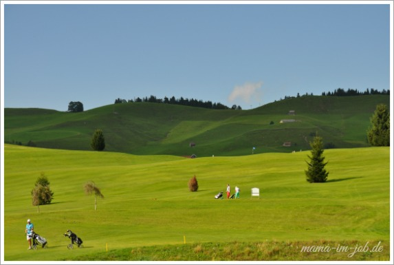 Golfplatz Gontenbad. Foto Petra A. Bauer 2014.