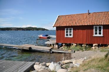 Bootshaus in Västbacken / Bohuslän. Foto: Petra A. Bauer 2014