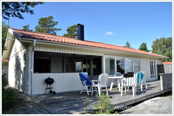 Unser Ferienhaus in Bohuslän. Foto: Petra A. Bauer