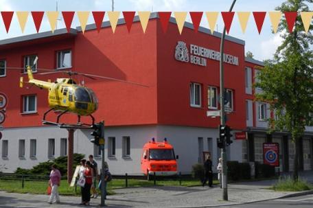 Berliner Feuerwehrmuseum in Tegel