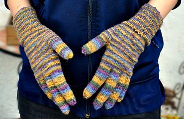 Fingerhandschuhe stricken leicht gemacht!