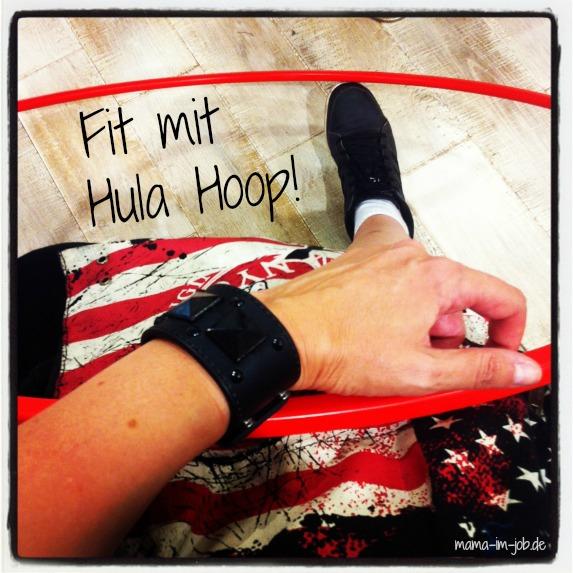 Fit mit Hula Hoop!