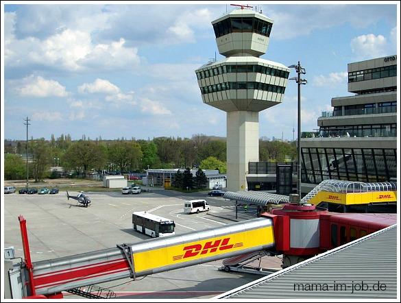 Flughafen Berlin Tegel (TXL) 2005. Foto: Petra A. Bauer.