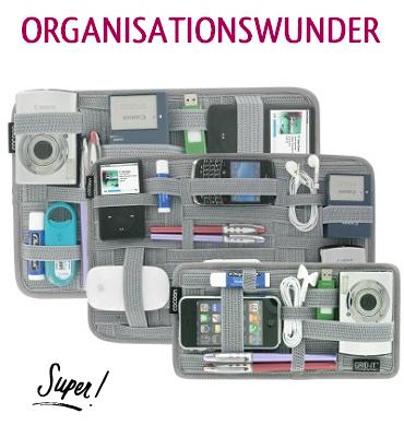 GRID-IT! - Geniales Ordnungssystem für Taschen