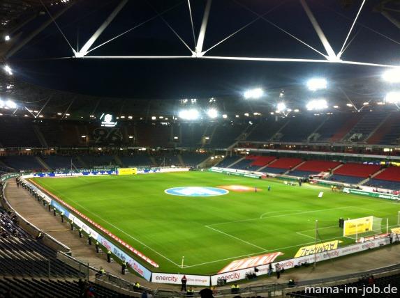 HDI Arena in Hannover vor dem Spiel Hannover 96 - Hertha BSC am 4.10.2013