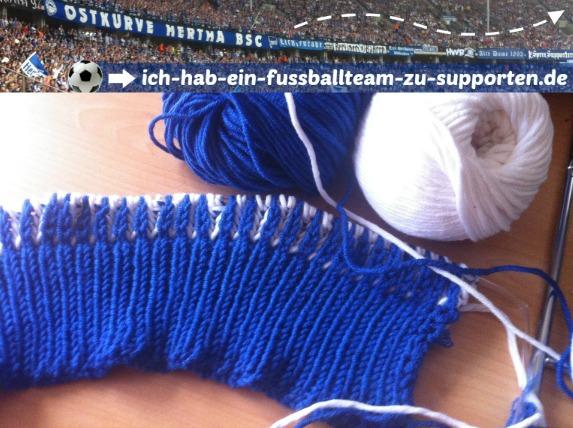 Hertha BSC | Fan-Mütze | Work in progress