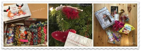 Päckchen und Karten aus der Insta-Strickcommunity