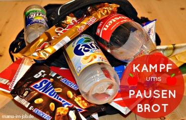 Der tägliche Kampf ums Pausenbrot: Anstatt gesundes Essen von zu Hause mitzunehmen, kaufen Schüler Junkfood am Schulkiosk.