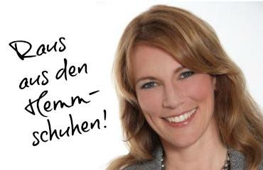 Kathrin Seifarth über ihr Buch Aus den Hemmschuhen in die Stöckelschuhe. Das Selbst-Coaching-Buch für zufriedenere Mütter.