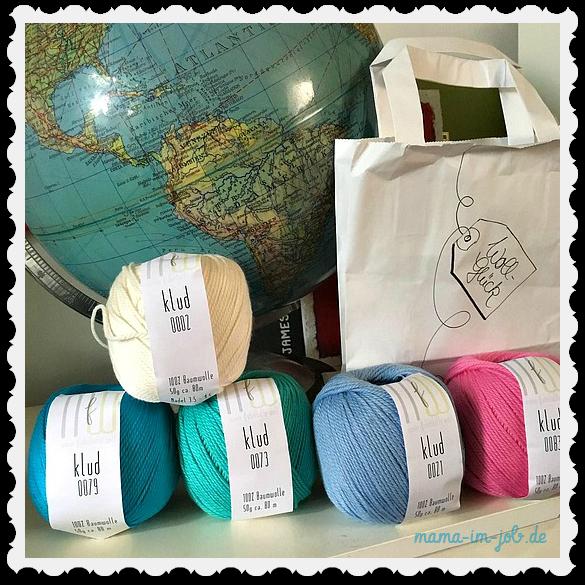 Klud-Baumwolle in verschiedenen Farben. Foto: Petra A. Bauer 2016