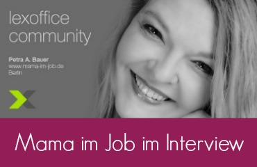 Petra A. Bauer von mama-im-job.de im Interview mit lexoffice