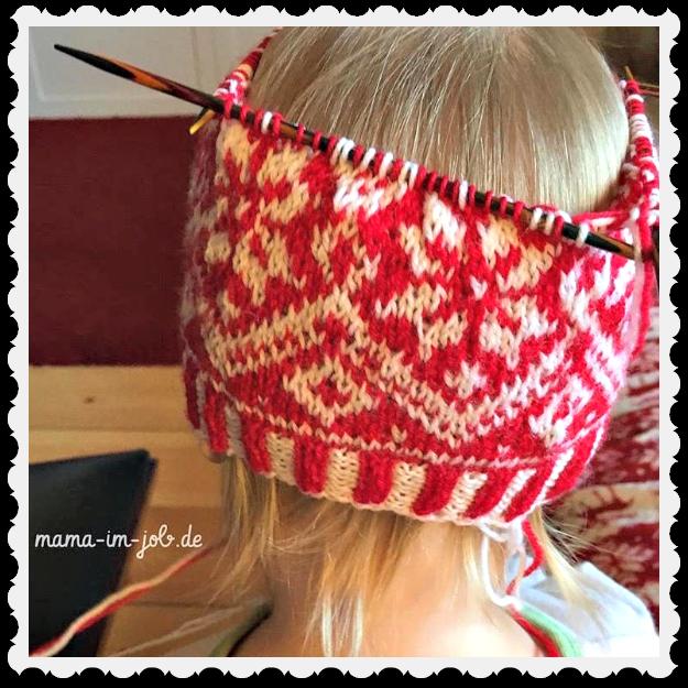 Der Merry Christmas Hat fürs Babytörtchen