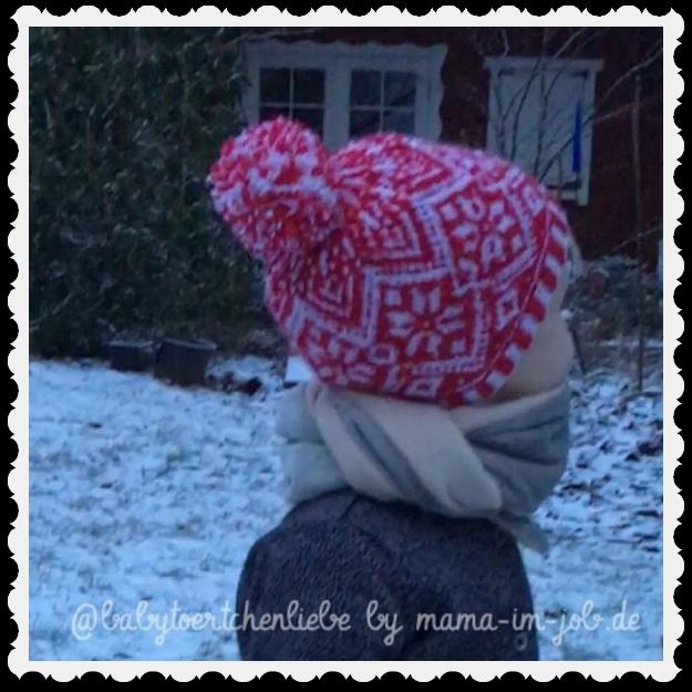 Babytörtchen mit Merry Christmas Hat