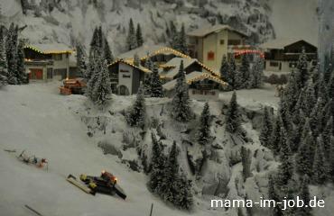 Schneelandschaft im Miniatur Wunderland
