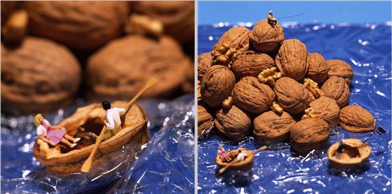 Foto: Food Diorama von Akiko Ida und Pierre Javelle