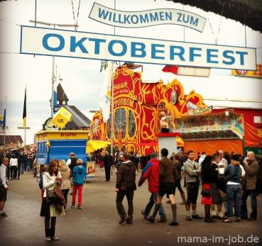 Oktoberfest auf der Münchner Theresienwiese
