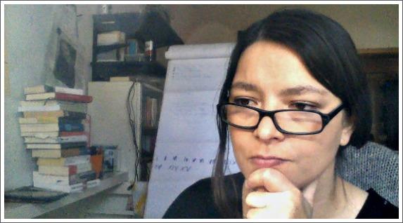 Pia Ziefle - Die Autorin bei der Arbeit