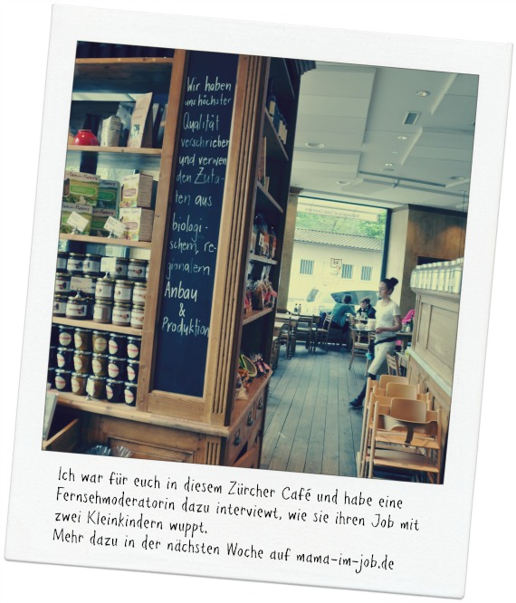 Le Pain Quotidien - Kinderfreundliches Café in Zürich, wo ich meine (noch geheime) Interviewpartnerin traf.