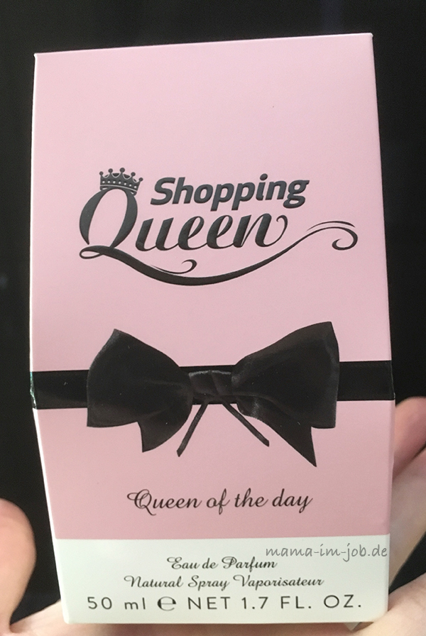 Queen of the Day - das Parfum für den Tag von Shopping Queen. Foto: Petra A. Bauer