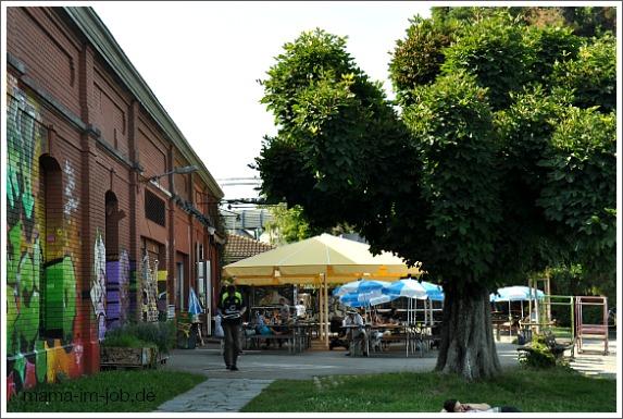 Die Rote Fabrik in Zürich. Petra A. Bauer 2012.