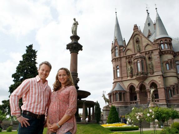 Stefan Pinnow und Tamina Kallert. Foto: Frank Dicks / WDR