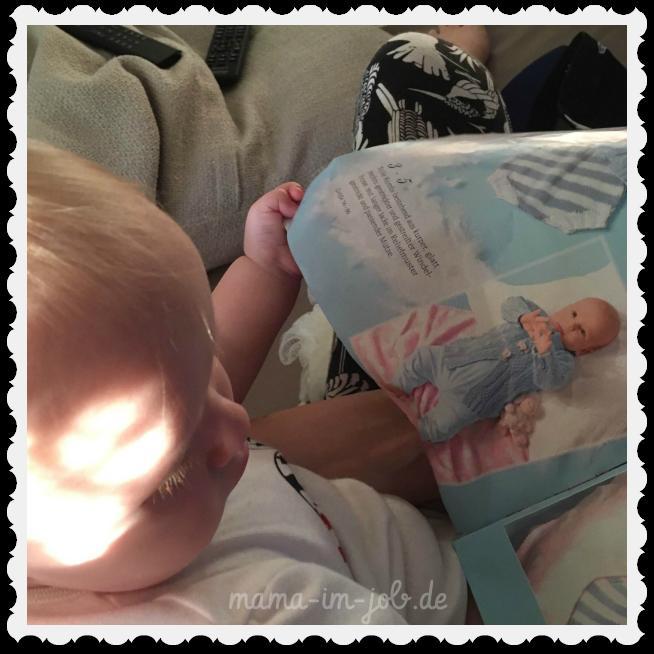 Das #Babytörtchen guckt sich Babymodels an ;-)
