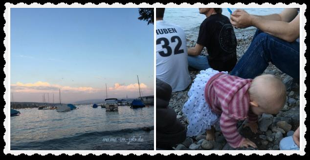 Wir hatten einen Logenplatz am Zürichsee. Fotos: Petra A. Bauer