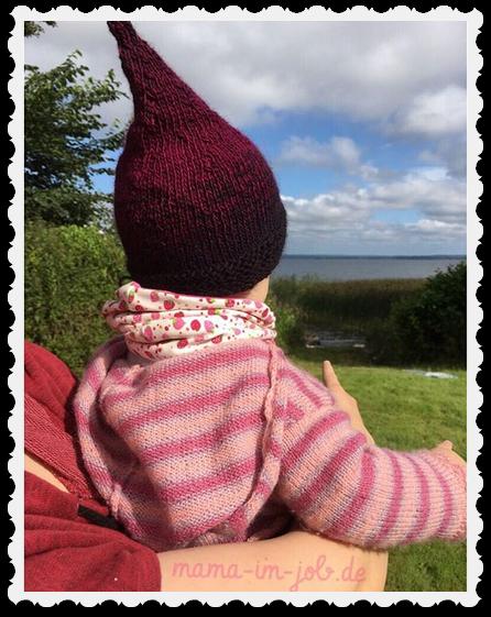 Zwergenmützchen auf Babytörtchen. Das Foto entstand am Ferienhaus auf dem Grundstück am Ringsjö in Schonen. Foto: Petra A. Bauer